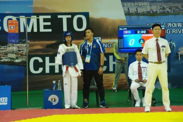 Pha Manyvong has targeted Tokyo 2020 after making a historic Para-taekwondo debut for Laos ©World Taekwondo