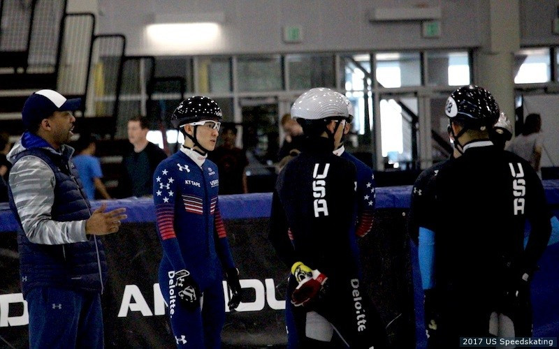 United States organise short track junior development camp to prepare for new season