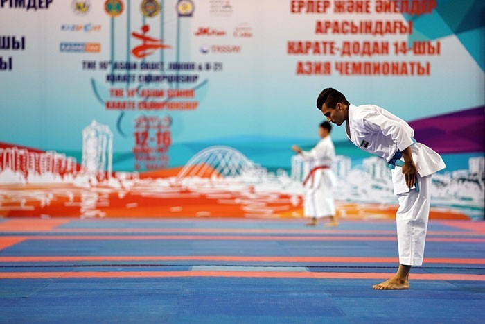 Astana hosted the Asian Karate Championships for the first time ©WKF