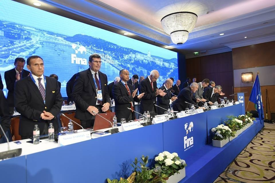 The FINA Congress rejected a call for bid presentations by any candidates ©FINA