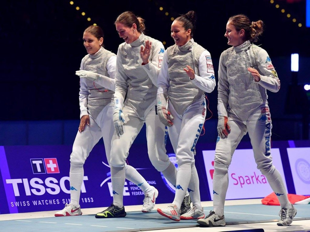 Italy claim women's team foil crown at FIE World Championships