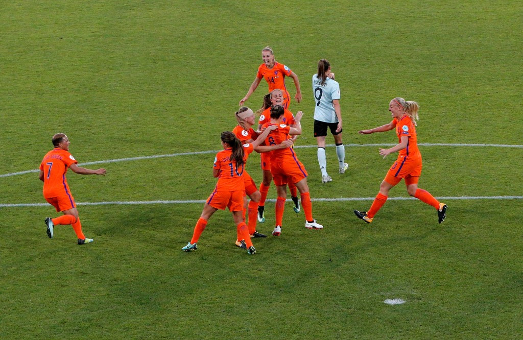 Dutch hosts join Denmark in securing UEFA Women's European Championships quarter-final spot
