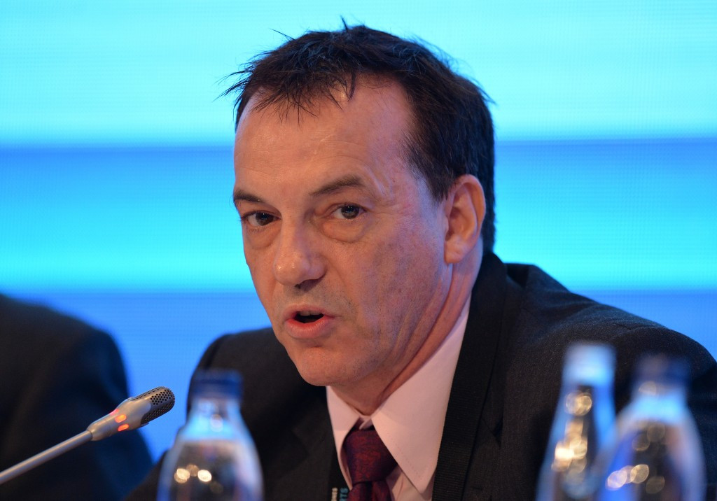 Stephan Fox has stressed the importance of the GAISF Membership Commission ©Getty Images