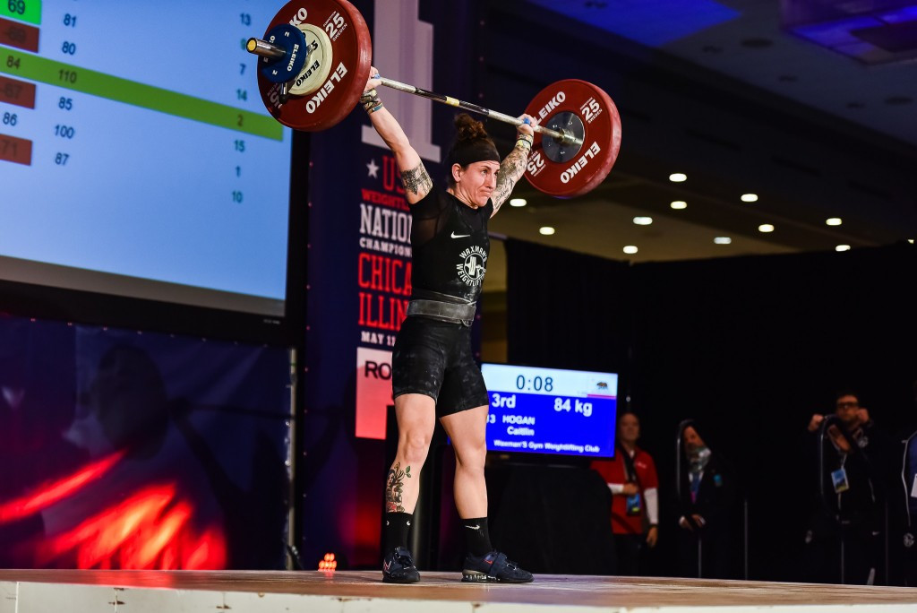 Hogan shows progress after ice hockey switch with Pan American Weightlifting Championships medals