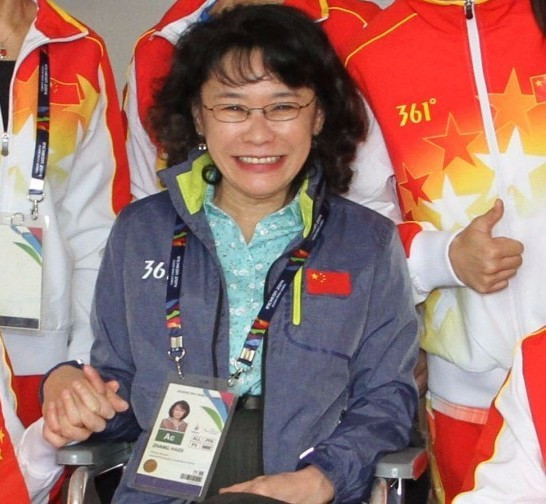 Zhang Haidi has revealed more details about her IPC Presidential plans ©Zhang Haidi