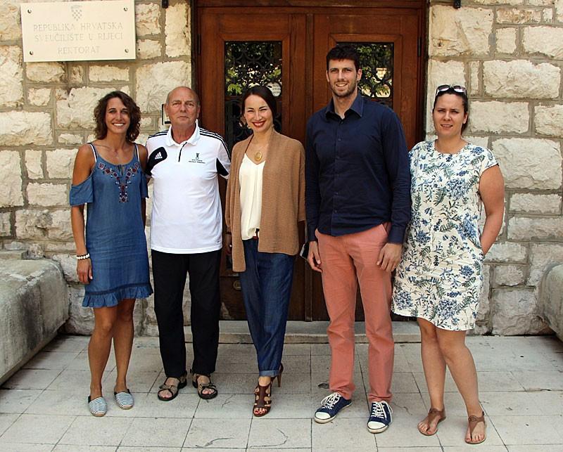 A FISU delegation visited Rijeka in Croatia to inspect preparations ©FISU