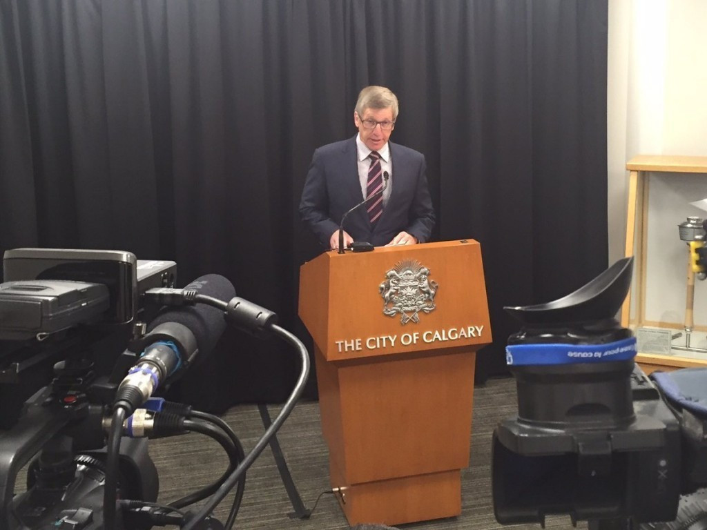 Rick Hanson led the Exploration Commission assessing a possible Calgary Winter Olympic bid ©Twitter