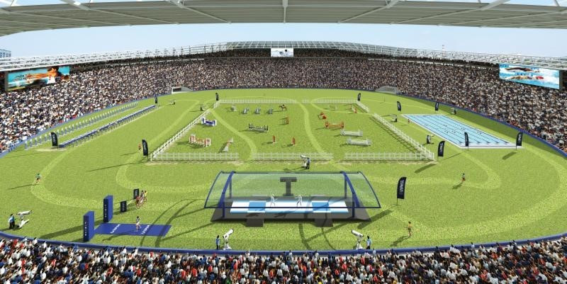 Tokyo will host all five disciplines across a single day ©UIPM