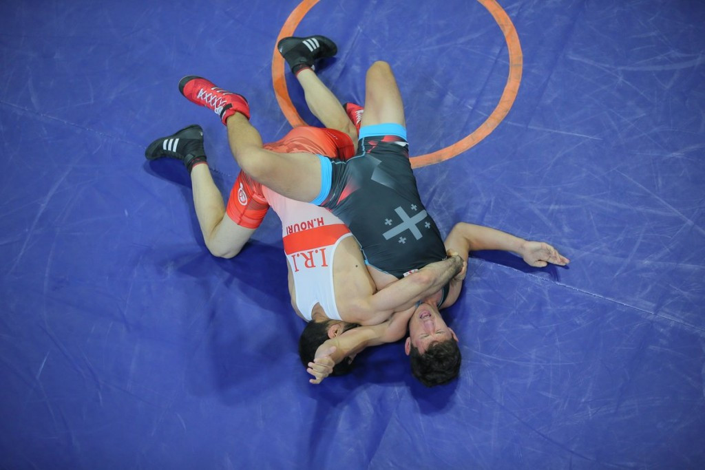 Iran claimed wrestling gold today at the Deaflympics ©Deaflympics