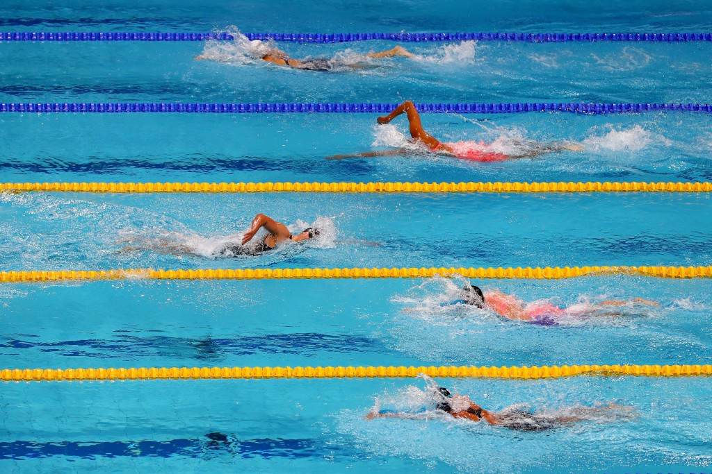 Katie Ledecky obliterated her rivals in the 1,500m freestyle ©Getty Images