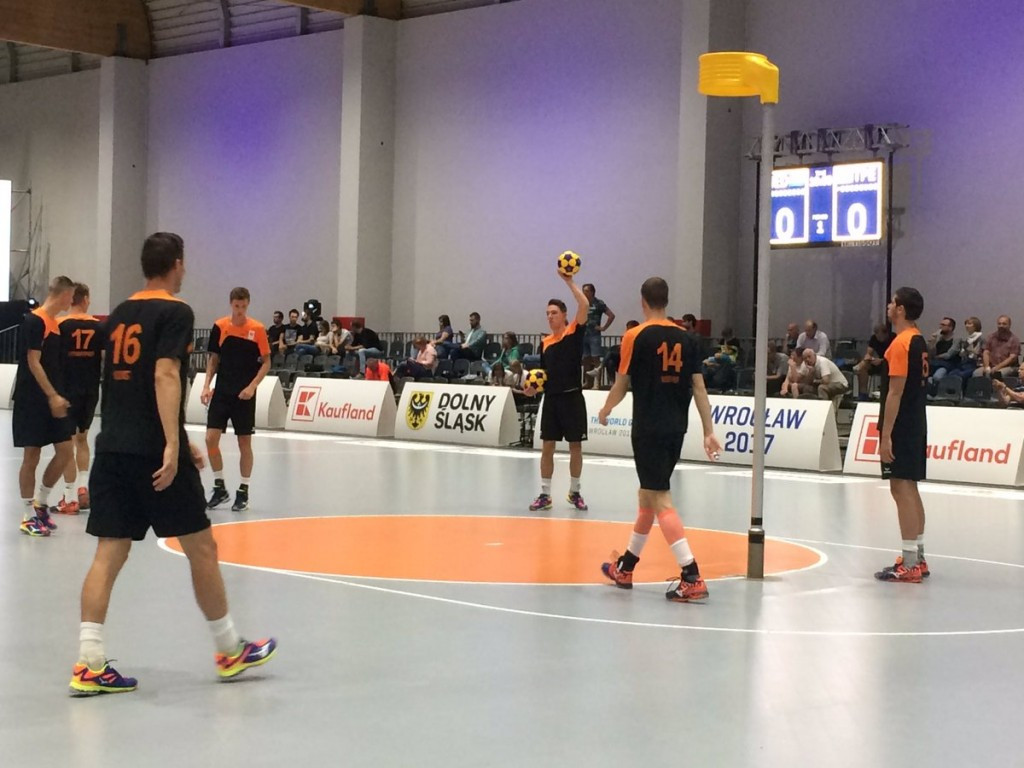 The Netherlands won a ninth straight World Games korfball title today ©IWGA