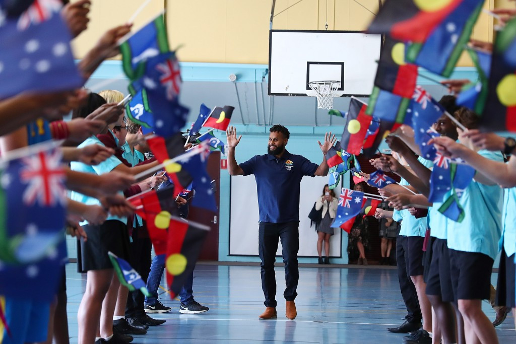 Patty Mills has been announced as the latest Gold Coast 2018 ambassador ©Getty Images
