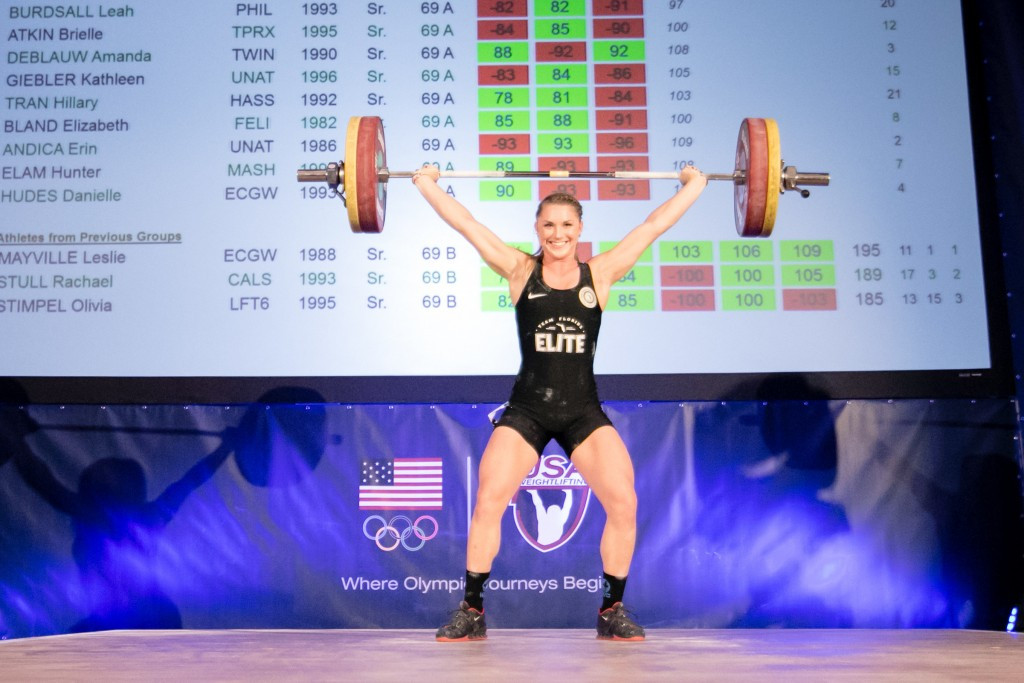 USA's ex-gymnasts shine but Colombians sweep golds at Pan American Weightlifting Championships