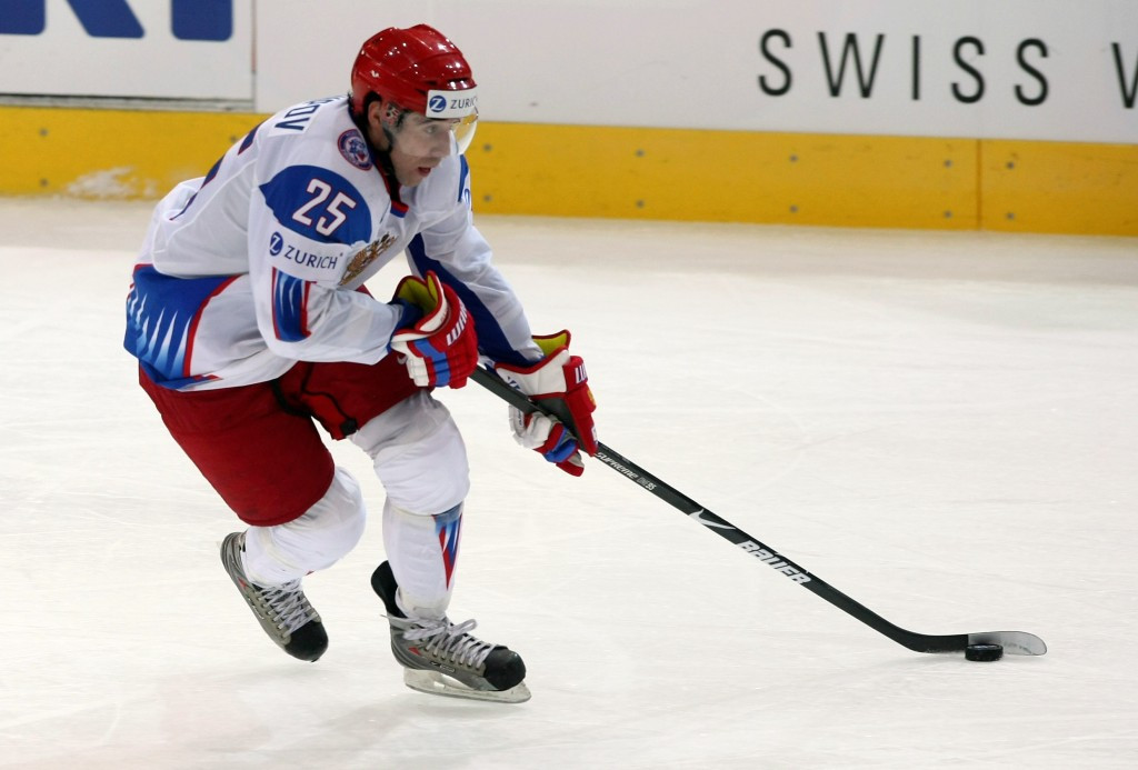 Russian ice hockey star Zaripov handed two-year doping ban