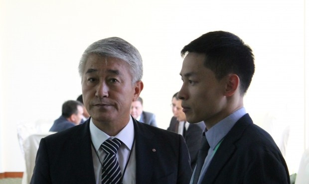 Korean Sambo Federation President Chong-keum Moon believes sambo can grow in the region ©FIAS