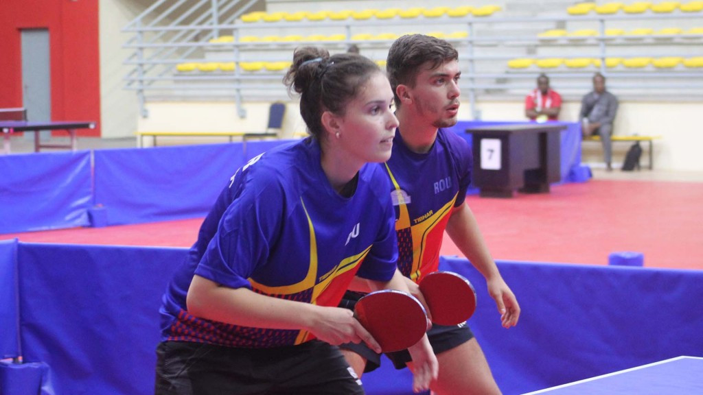 Romania and France win table tennis golds at Francophone Games