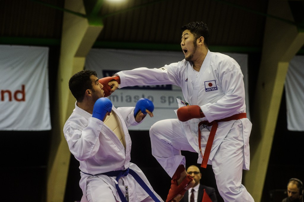 Japan win two golds as karate action concludes at Wrocław 2017