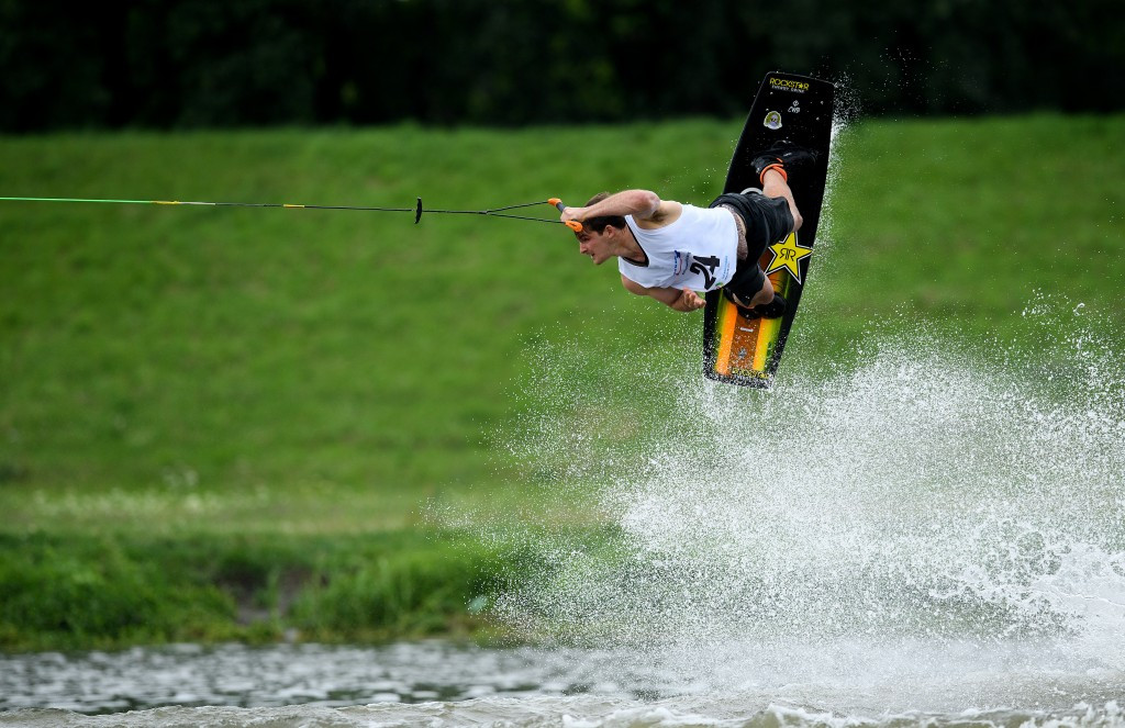 Gold medals were won in four water skiing competitions today ©Getty Images