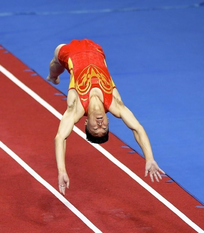 Gymnastics action concluded at The World Games today ©FIG