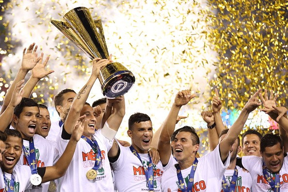 Mexico won the Gold Cup for a record seventh time ©Getty Images