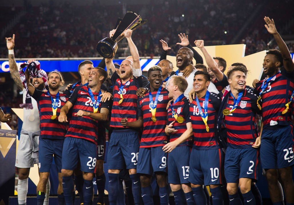 The United States have claimed their sixth Gold Cup title after Jordan Morris' late strike secured a 2-1 victory over Jamaica in the final at the Levi's Stadium in Santa Clara ©Getty Images