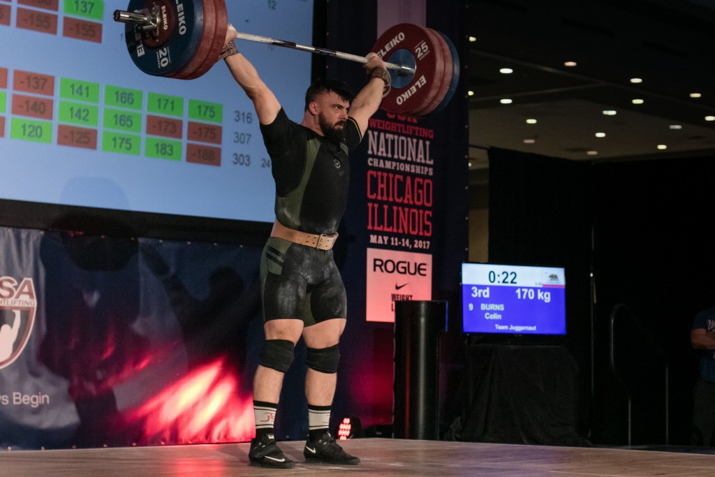 Burns takes USA's first Pan American weightlifting gold in Miami