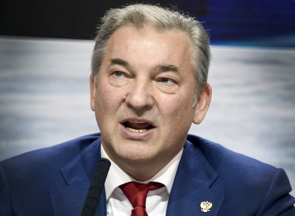 "Russian ice hockey chief promises ""no mercy"" in fight against doping"