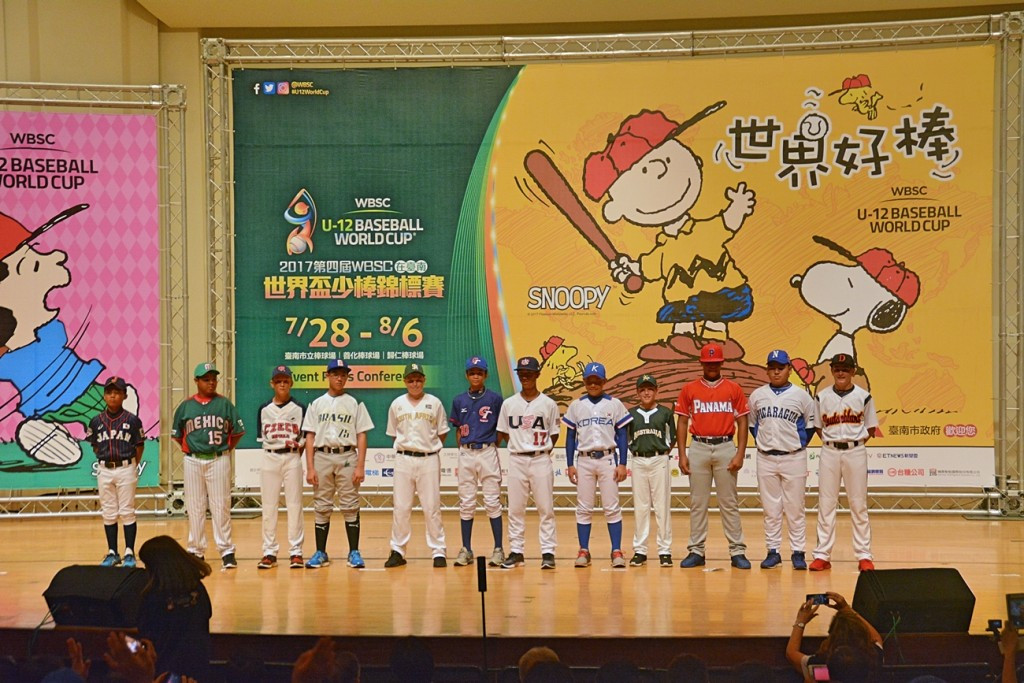 Fraccari praises host city Tainan on eve of Under-12 Baseball World Cup