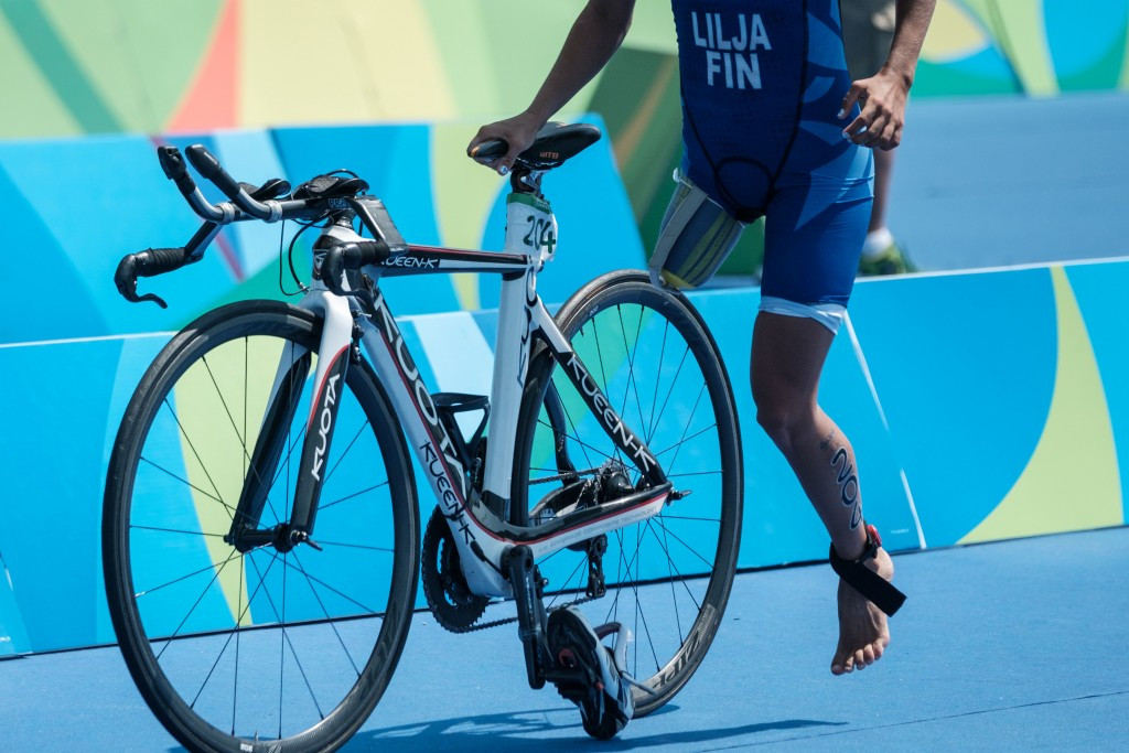 Lilja eyes ending American dominance at ITU World Paratriathlon Series in Edmonton