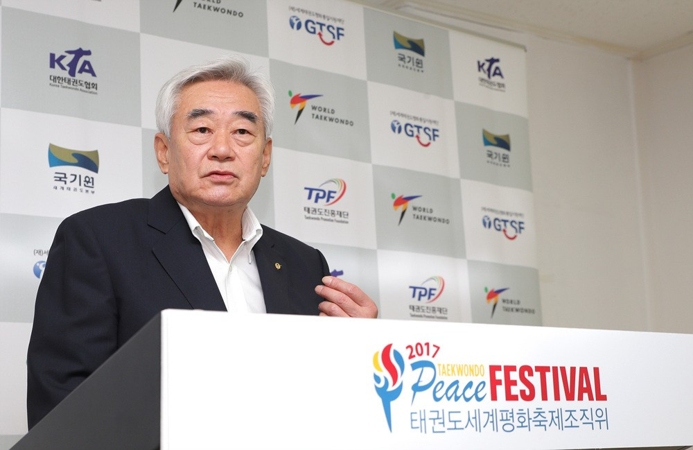 World Taekwondo President Chungwon Choue launched the THF in 2015 ©World Taekwondo