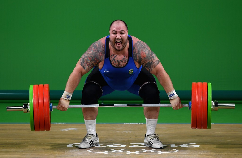No medal or anthem for Brazilian weightlifter ashamed of his own federation boss