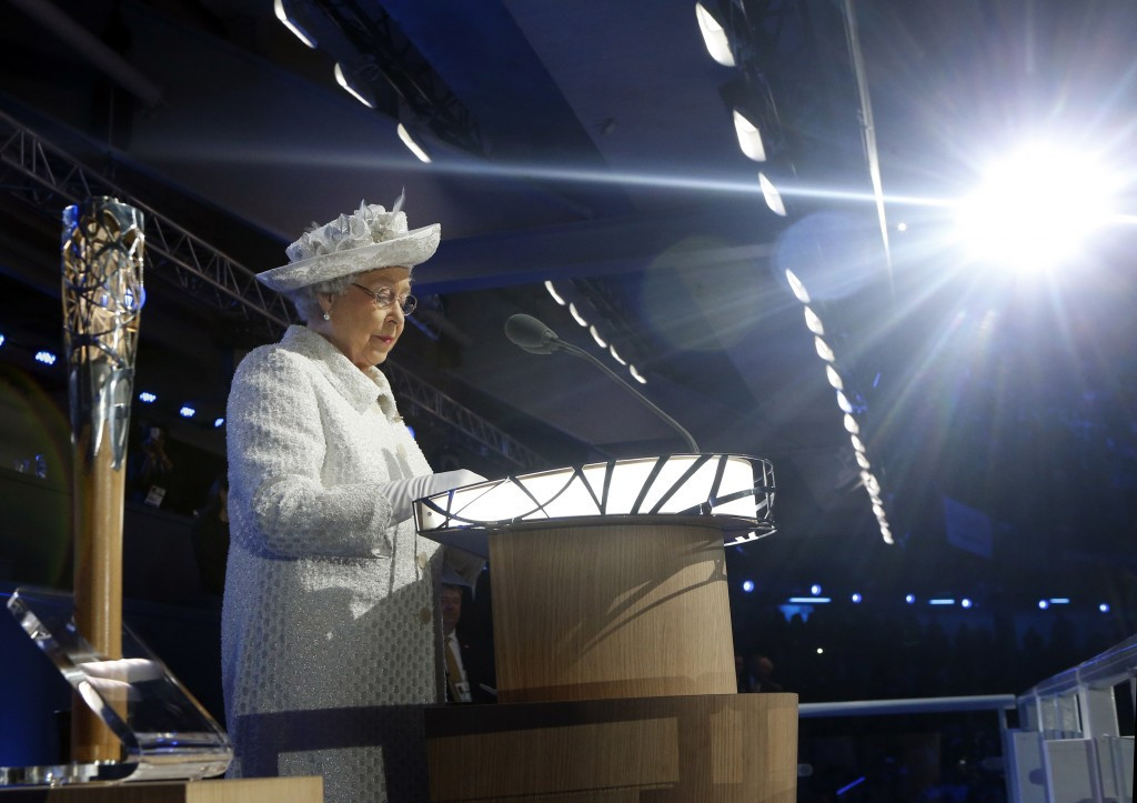 The Queen attended the Opening Ceremony of the Glasgow 2014 Commonwealth Games ©Getty Images