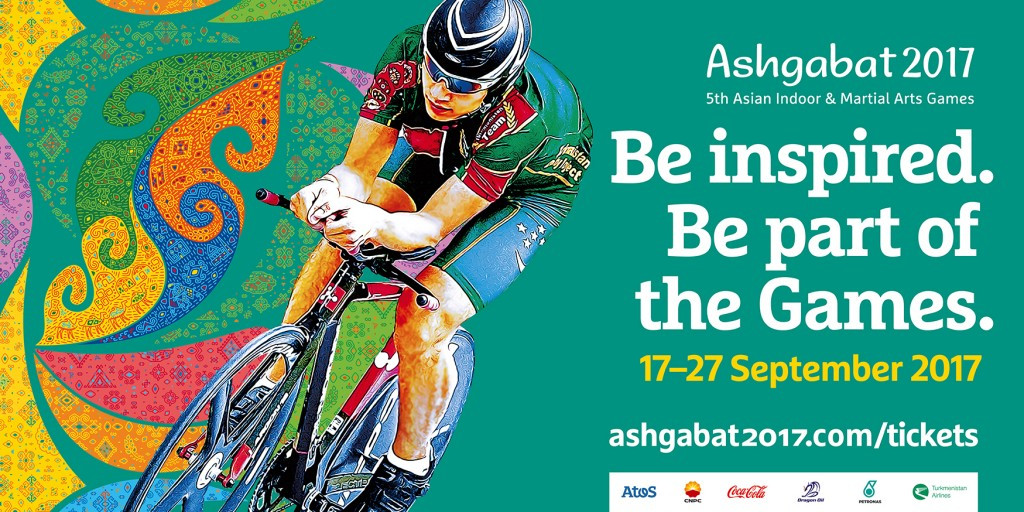 Tickets for the upcoming 2017 Asian Indoor and Martial Arts Games in Ashgabat are due to go on sale across host country Turkmenistan tomorrow ©Ashgabat 2017