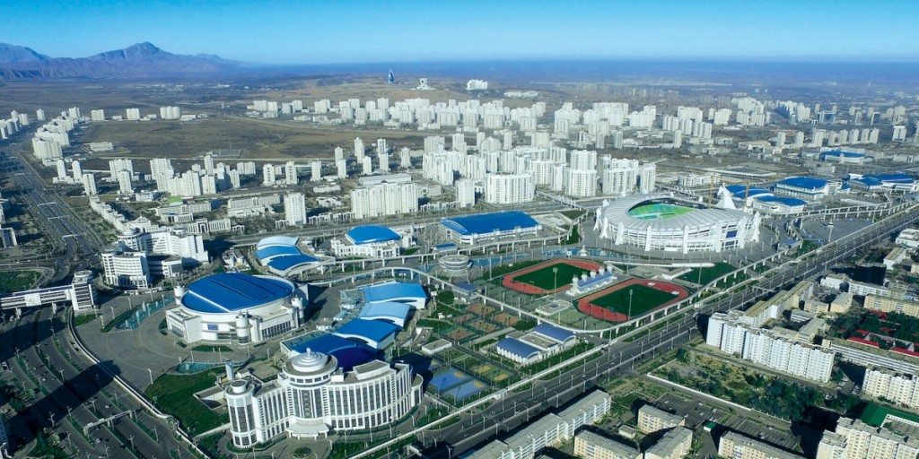 The new Ashgabat Olympic Complex will host the 2017 Asian Indoor and Martial Arts Games ©Ashgabat 2017