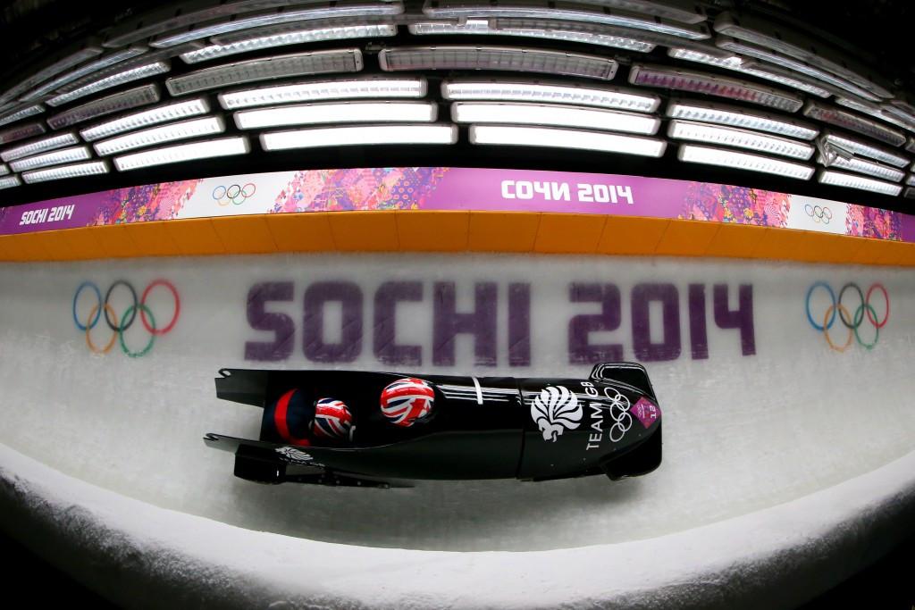 Rebekah Wilson was brakewoman at Sochi 2014 with Paula Walker ©Getty Images