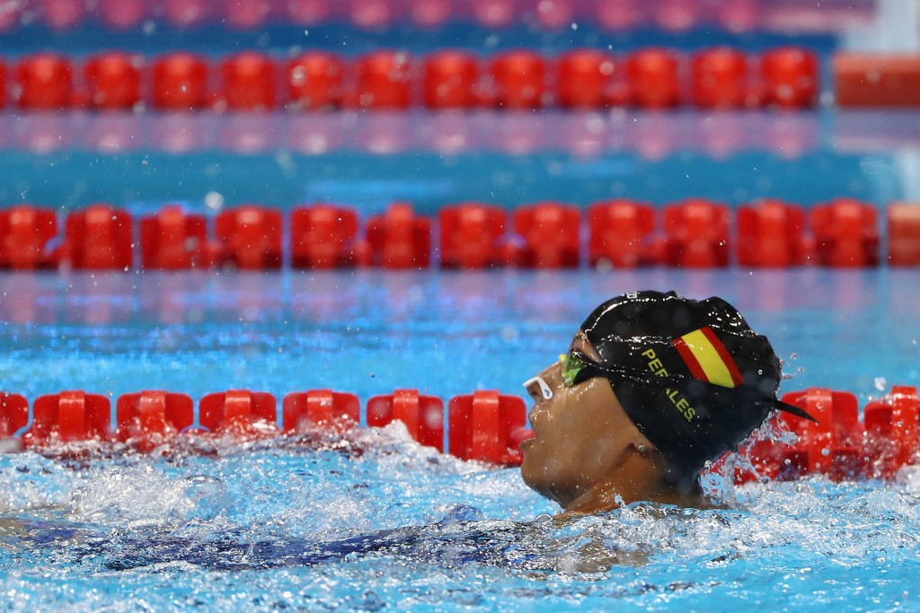 Perales headlines Spanish team for World Para Swimming Championships