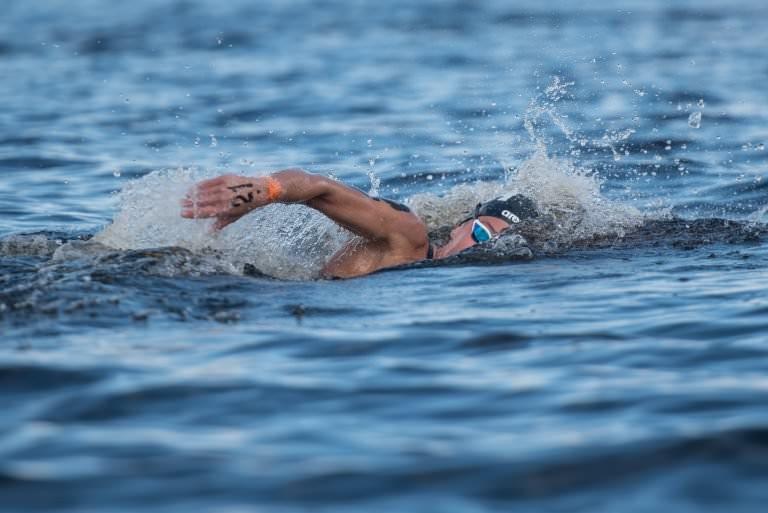 Arianna Bridi was successful in the women's race ©FINA