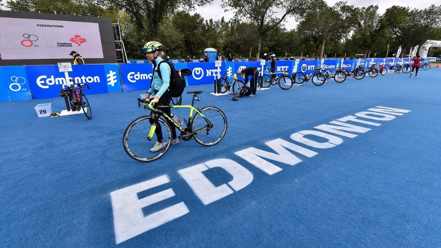 The World Triathlon Series Grand Final, due to take place in Edmonton in August, will not take place at all in 2020 ©Getty Images