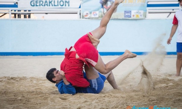 Cyprus claim two golds at Open Beach Sambo Championship in Larnaka