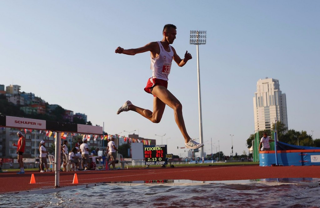 Action continued at the Deaflympics in Samsun today ©Twitter