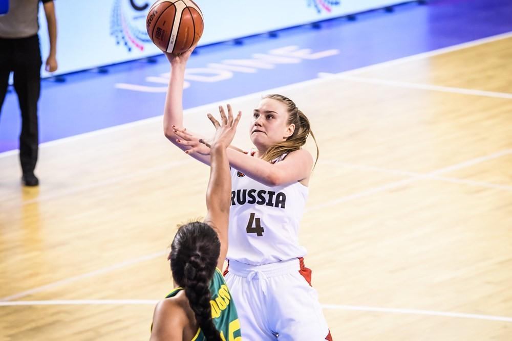 Russia edge Australia to reach FIBA Women's Under-19 World Cup semi-finals