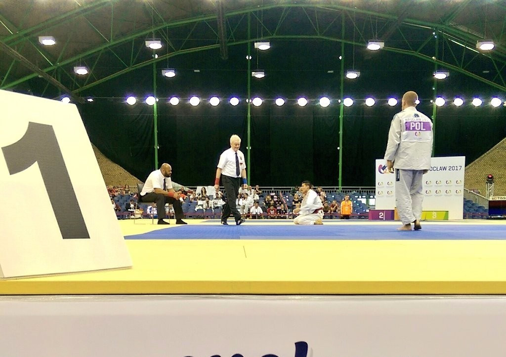 Poland's Maciej Polok won the men's 69 kilograms ne-waza gold medal ©The World Games 2017