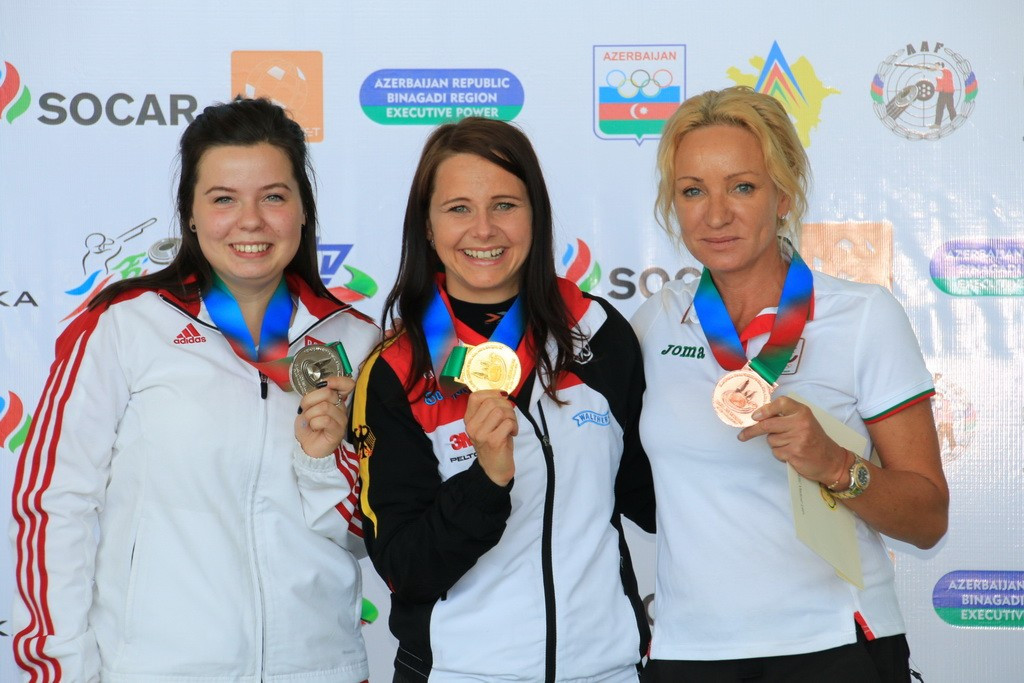 Germany's Karsch strikes gold at European Shooting Championships