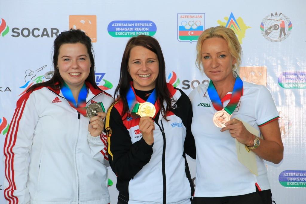 Germany's Karsch strikes gold at European Shooting Championships