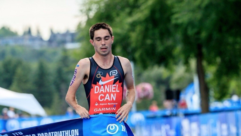 Canadian Stefan Daniel delivered gold for the host nation in the men's PTS5 ©ITU