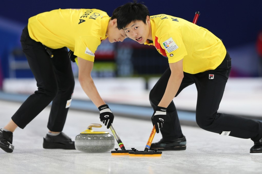 Hosts South Korea won the men's title at the 2017 World Junior Curling Championships in  Gangneung ©WCF/Richard Gray
