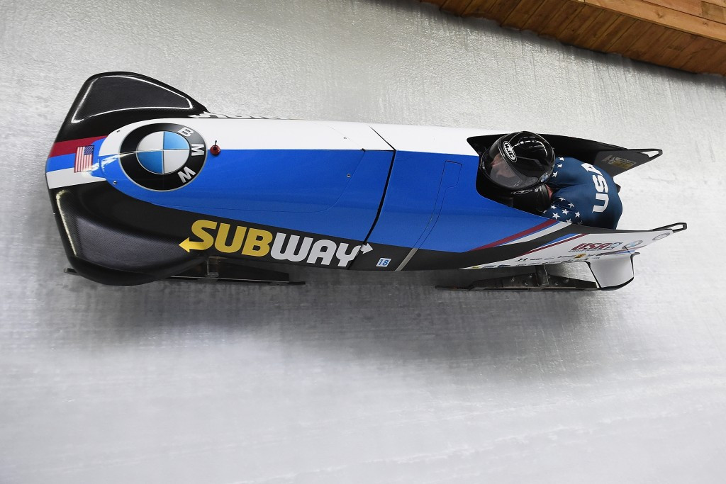 Olympic medallists triumph at USA Bobsled National Push Championships