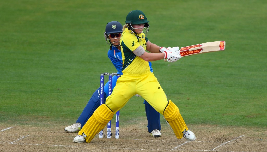 Meg Lanning of Australia has stayed top of the batting rankings ©Getty Images