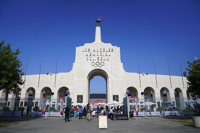 The celebratory reunion for volunteers was held at the iconic LA Memorial Coliseum ©Los Angeles 2024