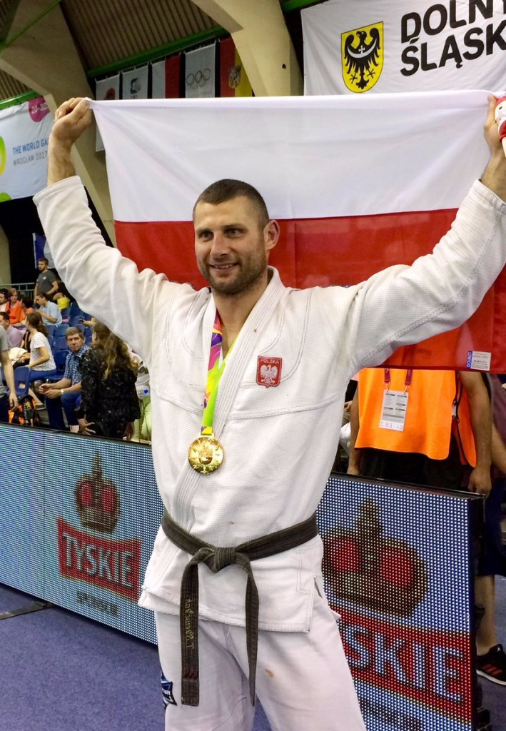 Poland's Tomasz Szewczak won jiu-jitsu gold today ©The World Games 2017